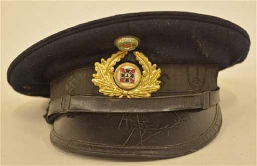 3f16b5754d2 WWII German Veteran s Association Visor Hat