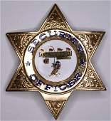 Obsolete Las Vegas Club Casino Security Badge
