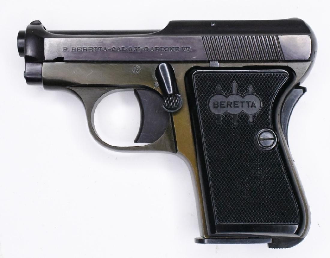 Beretta Model 418  25 Auto Semi-Automatic Pistol