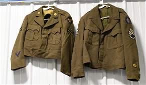 WWII Era US Air Force Ike Jacket Lot