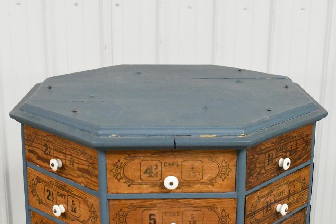 Early General Store Oscillating Hardware Cabinet - 3