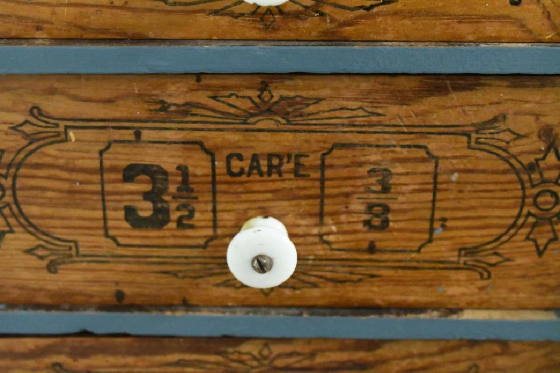 Early General Store Oscillating Hardware Cabinet - 8