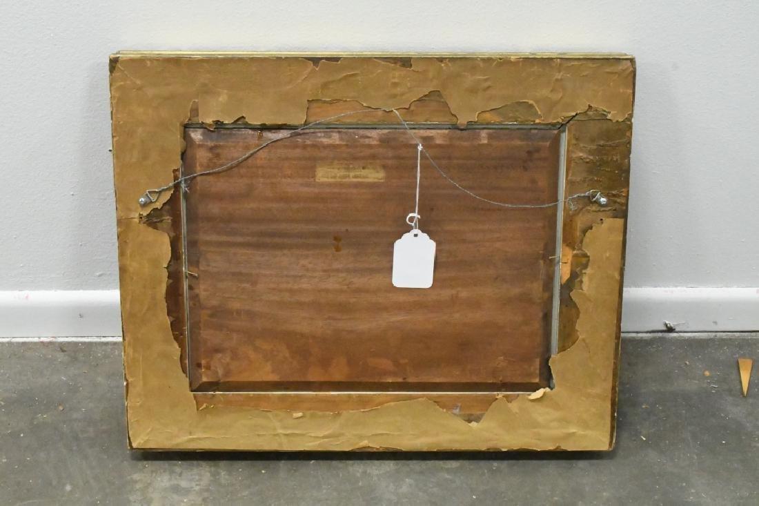 """Franz von Defregger """"The Last Bid"""" Oil On Board - 4"""