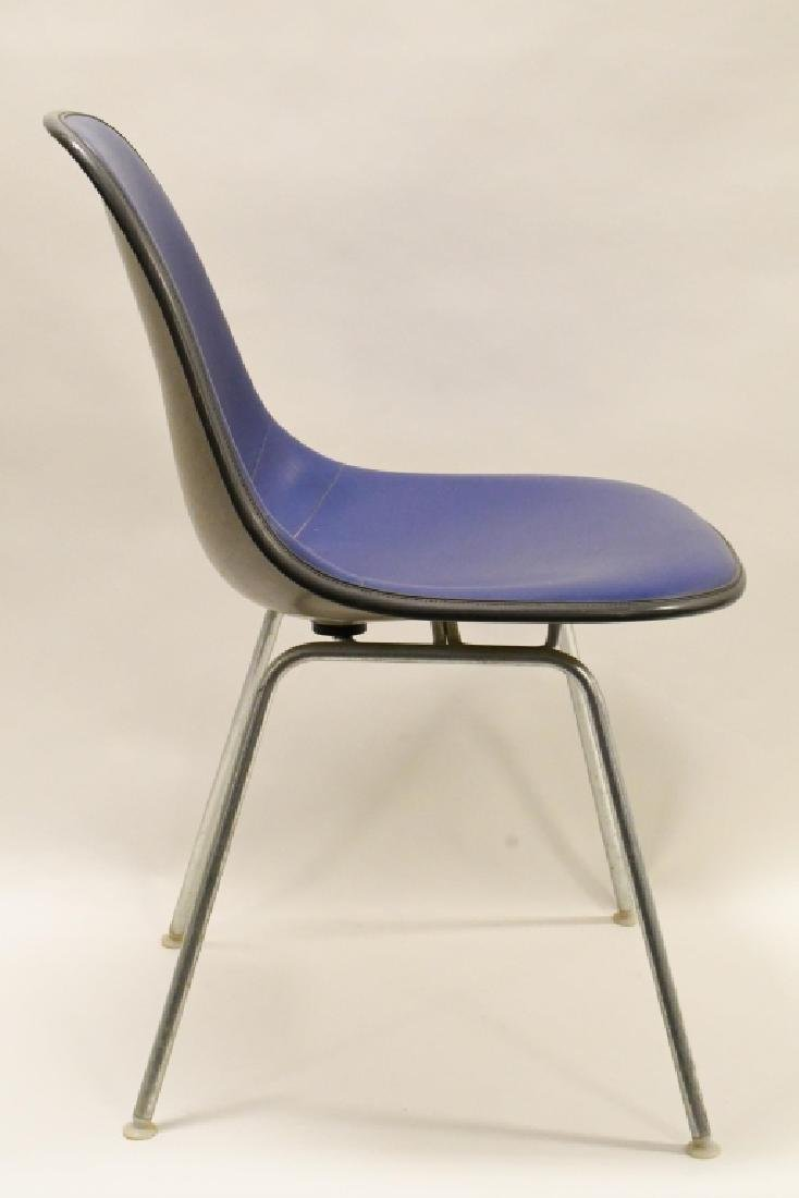 Mid-Century Herman Miller Blue Upholstered Chair - 2