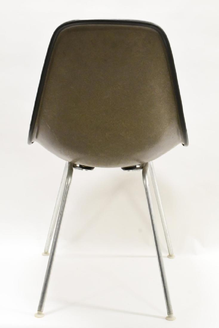 Mid-Century Herman Miller Blue Upholstered Chair - 3