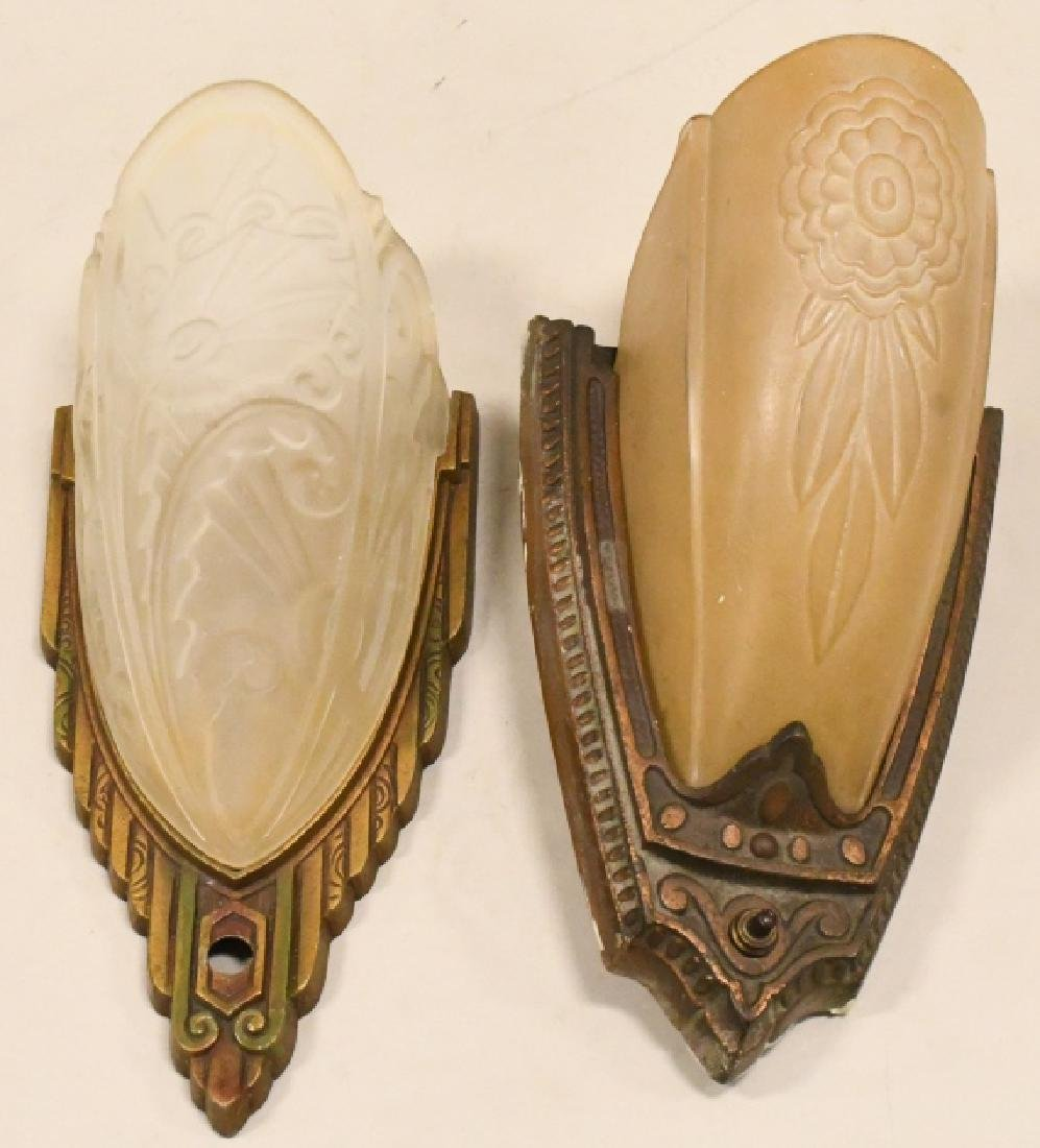 Pair Of Antique Wall Sconce Lamps