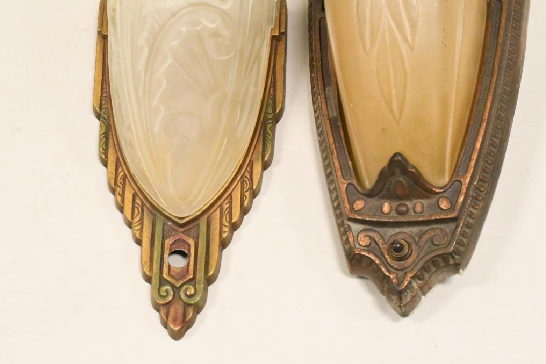 Pair Of Antique Wall Sconce Lamps - 4
