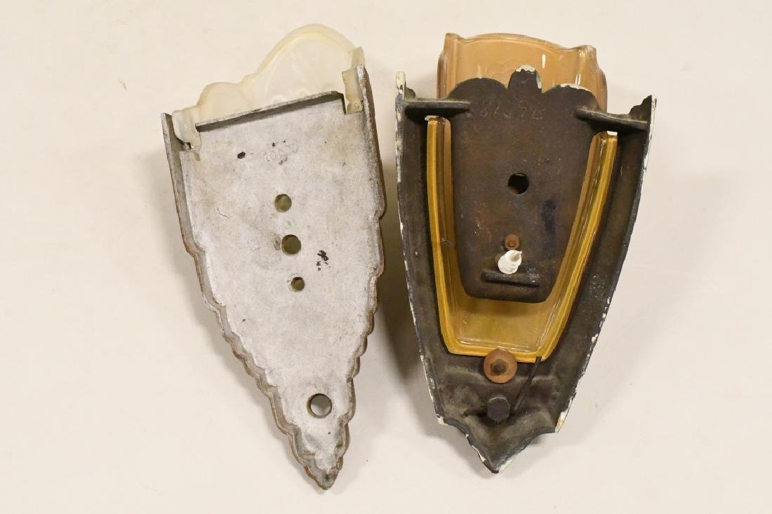 Pair Of Antique Wall Sconce Lamps - 5