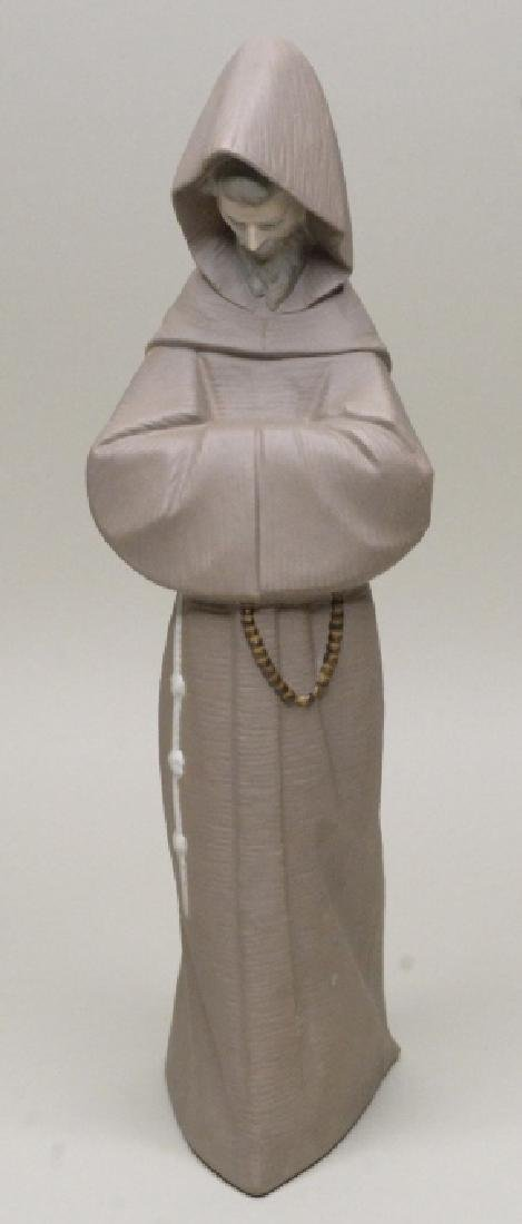 "Lladro Gres ""Monk"" Figurine #12060"