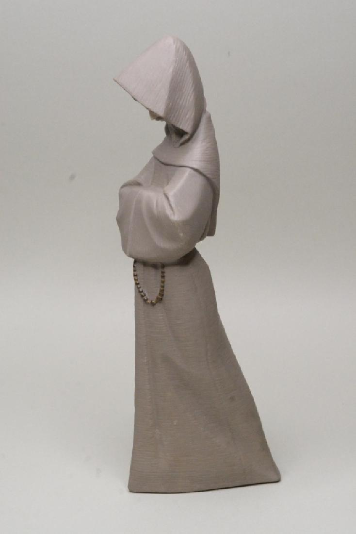 "Lladro Gres ""Monk"" Figurine #12060 - 2"