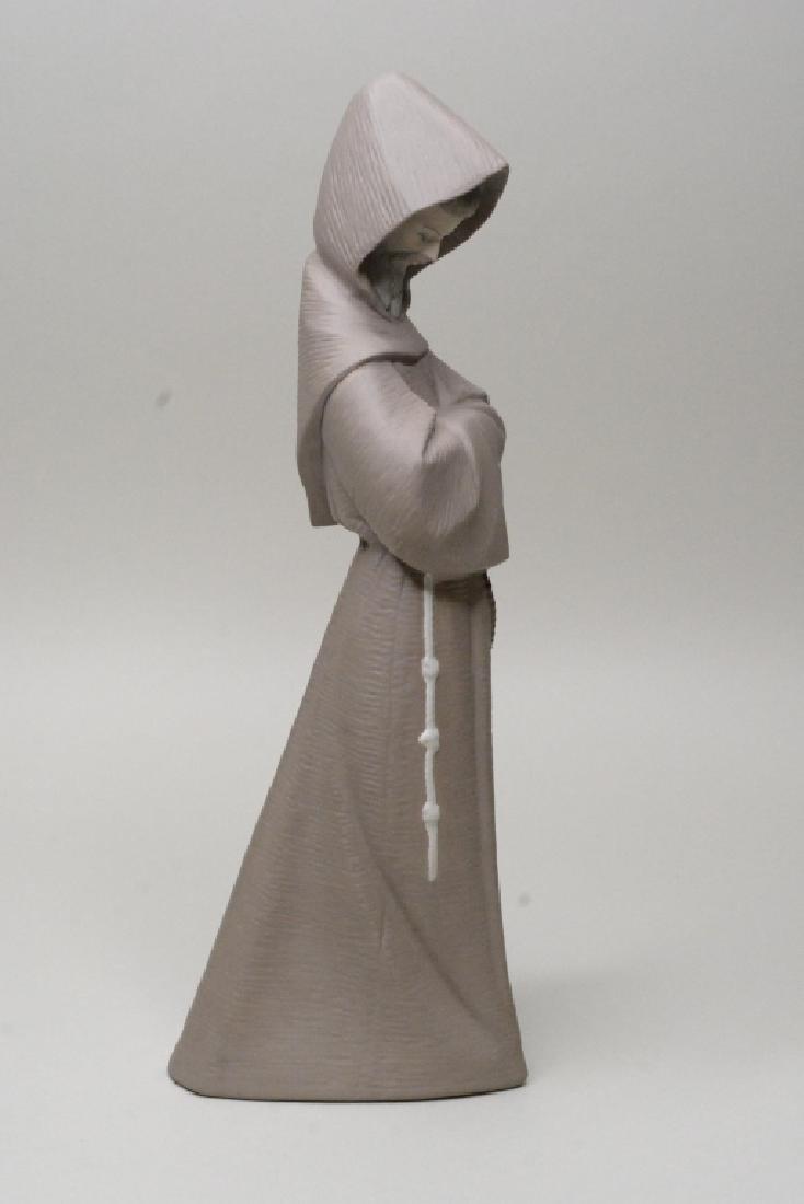 "Lladro Gres ""Monk"" Figurine #12060 - 3"