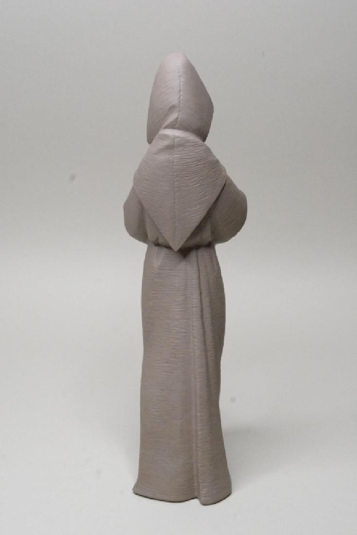 "Lladro Gres ""Monk"" Figurine #12060 - 4"