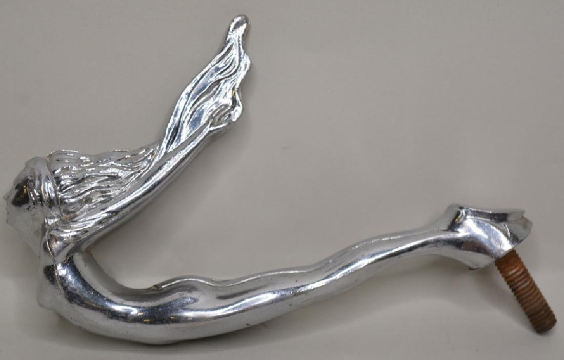 Art Deco Nude Flying Lady Hood Ornament Mascot