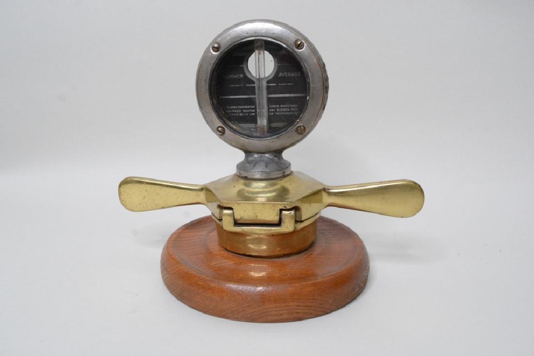 Studebaker Gauge w/ Locking Radiator Cap - 3