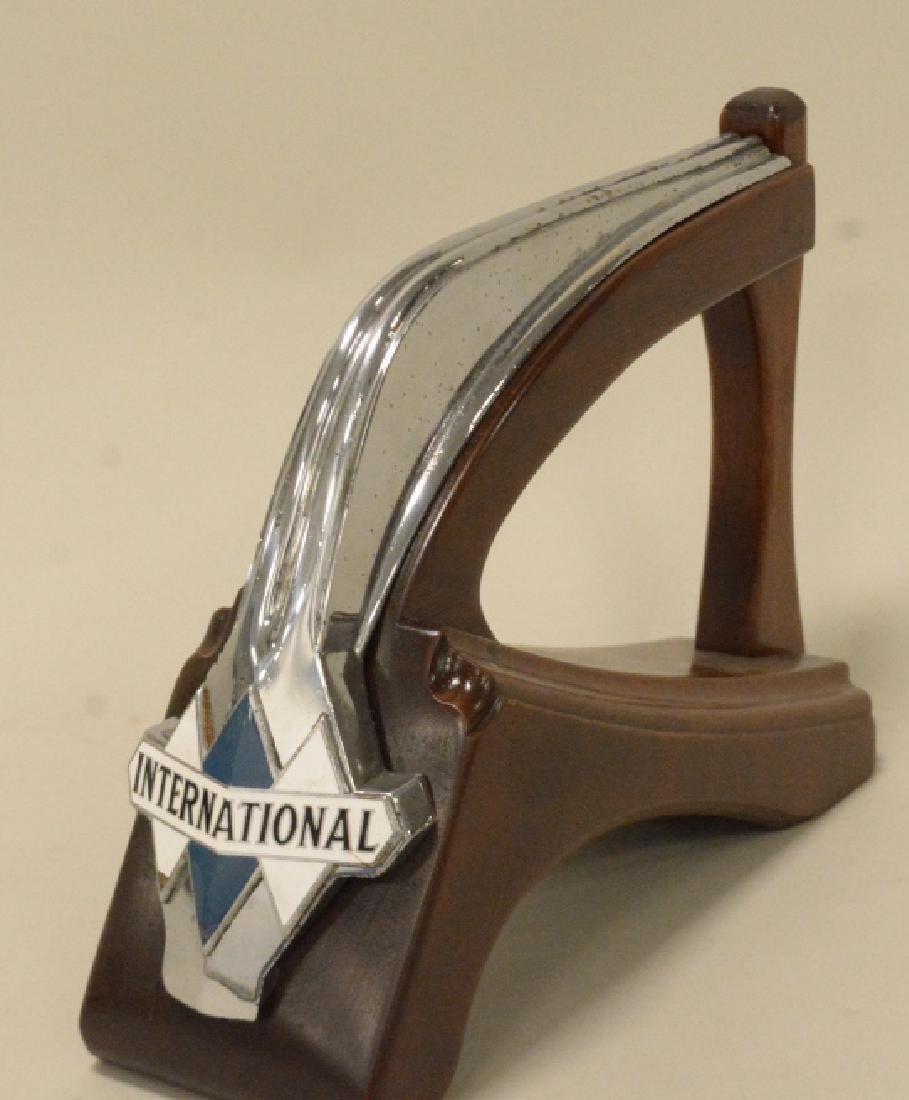 International Harvester Hood Ornament