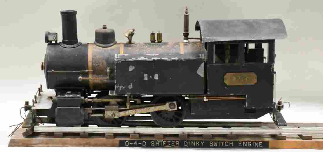 Live Steam Engine 0-4-0 Shifter Dinky Switch Train