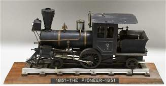 1851 The Pioneer Live Steam Engine Train Model