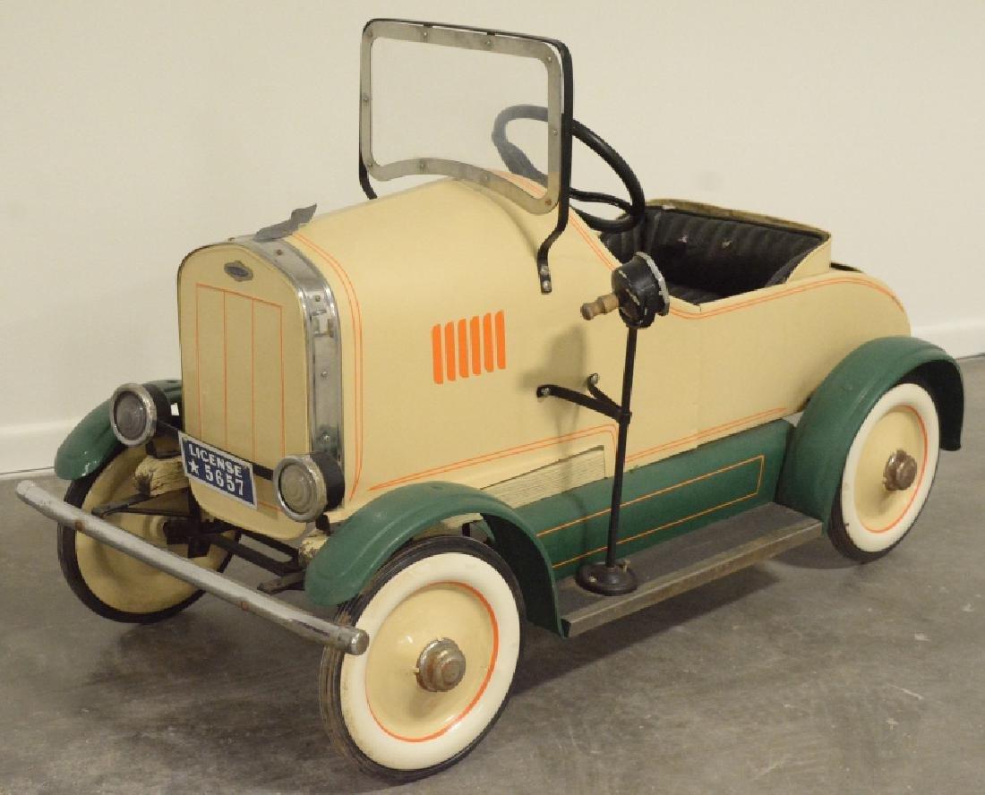 Vintage Gendron(?) Lincoln Pedal Car