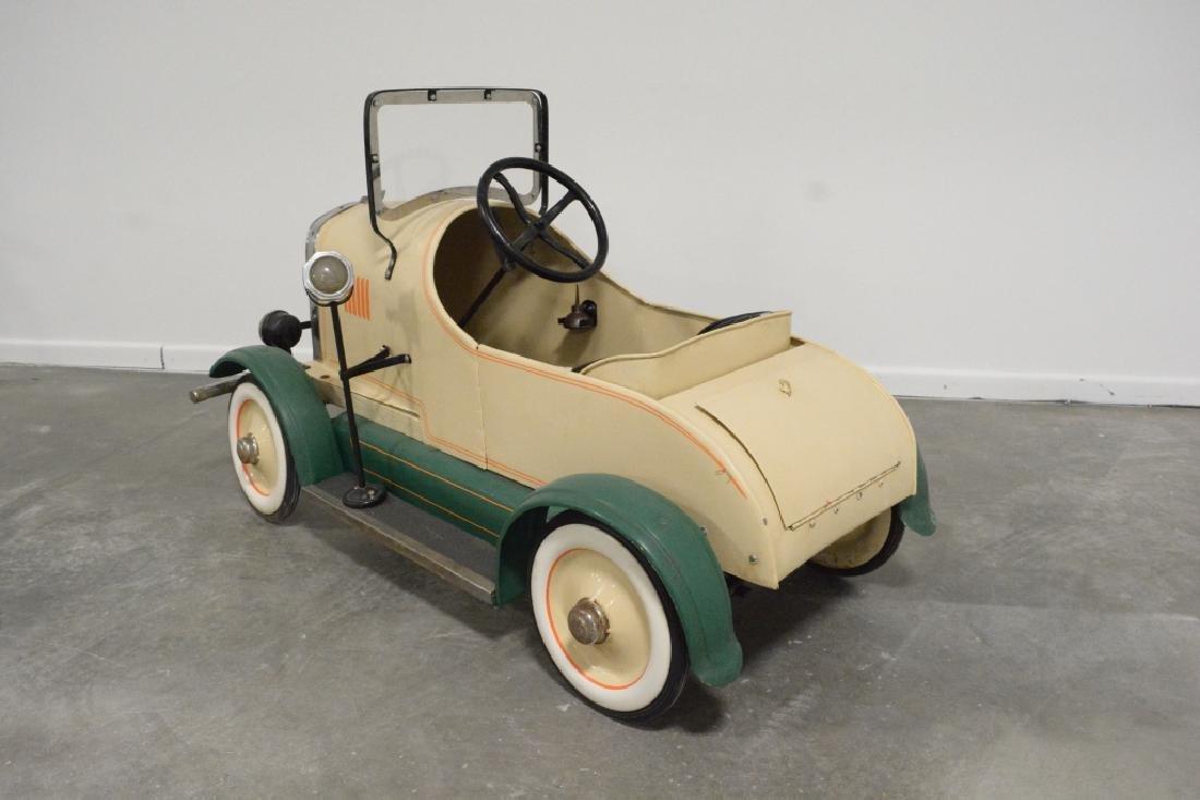 Vintage Gendron(?) Lincoln Pedal Car - 5