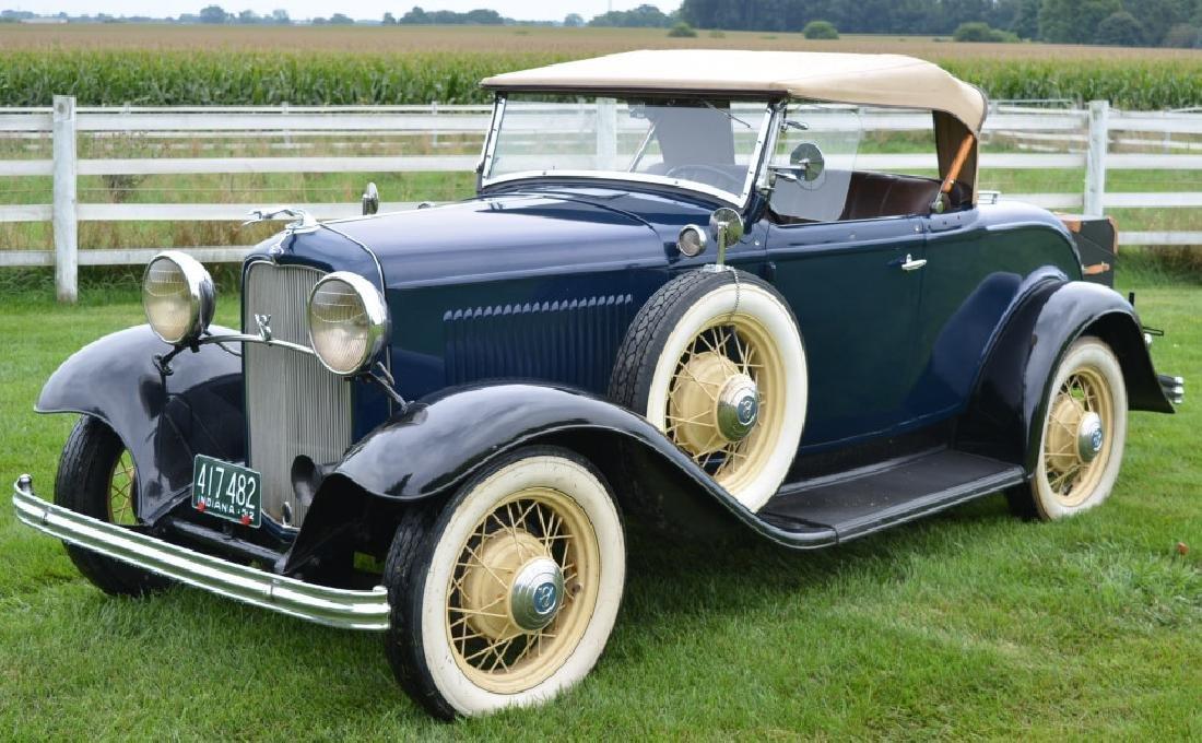 1932 Ford Deluxe V8 Roadster