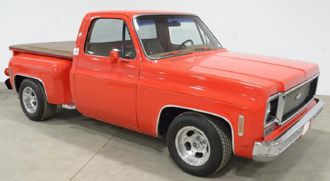 1974 Chevrolet C-10 Stepside Pick-up Truck