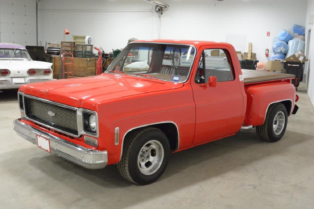 1974 Chevrolet C-10 Stepside Pick-up Truck - 4