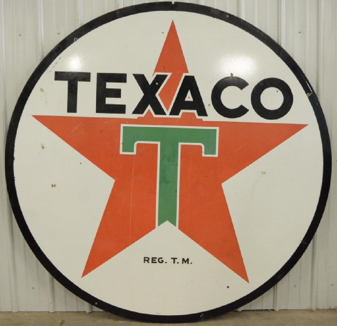 "DSP Texaco 72"" Advertising Sign"