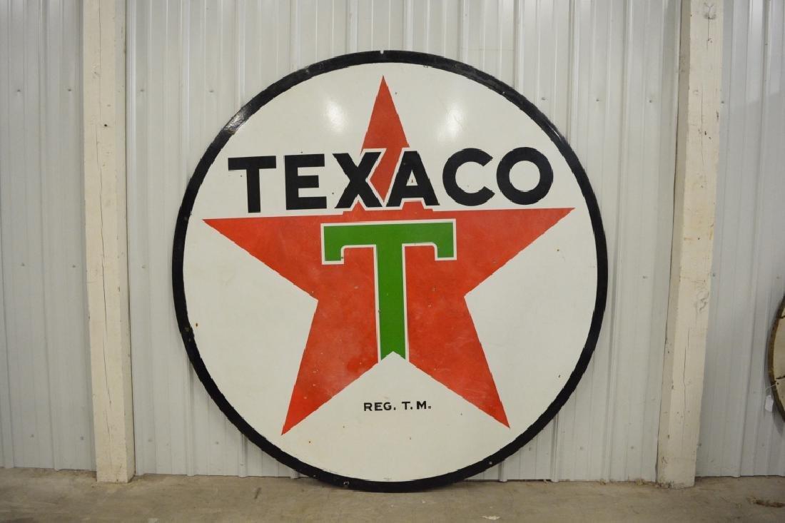 "DSP Texaco 72"" Advertising Sign - 4"