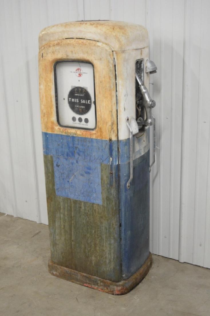 Unrestored Wayne Martin & Schwartz #80 Gas Pump - 2
