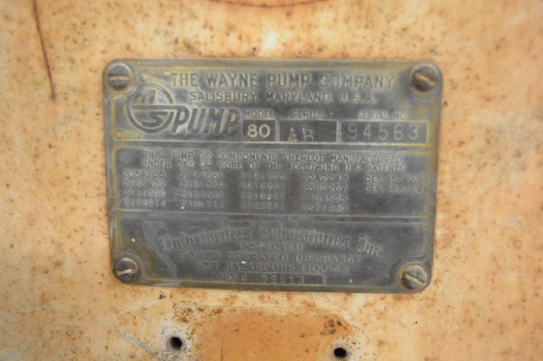 Unrestored Wayne Martin & Schwartz #80 Gas Pump - 4