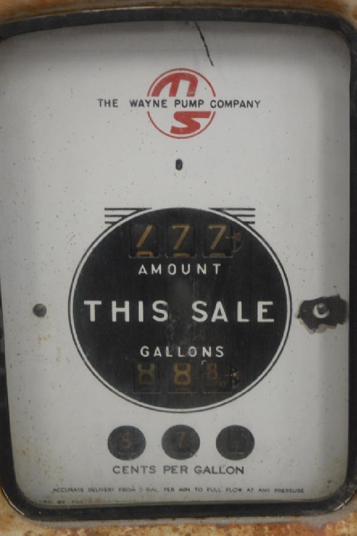 Unrestored Wayne Martin & Schwartz #80 Gas Pump - 5