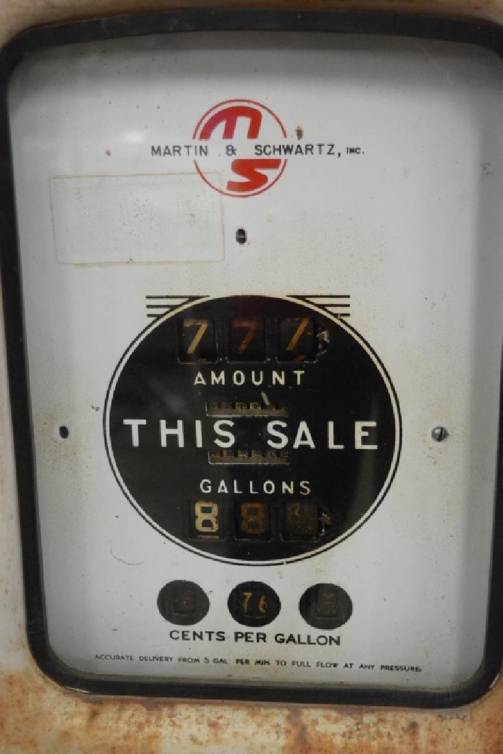 Unrestored Wayne Martin & Schwartz #80 Gas Pump - 7