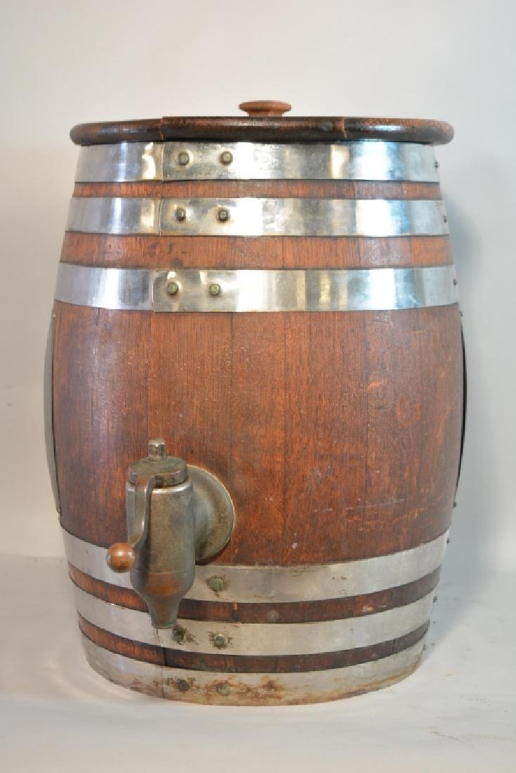 Vintage Hires Root Beer Keg Barrel Dispenser - 4