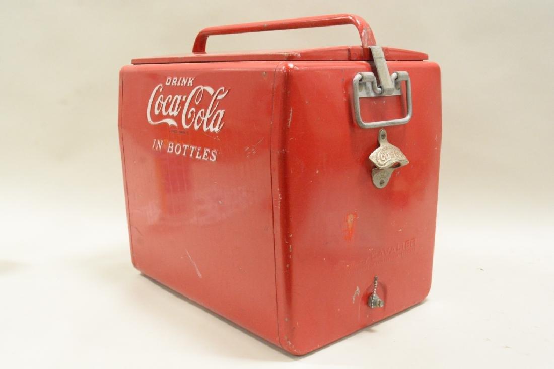 Cavalier Drink Coca Cola in Bottles Cooler - 2