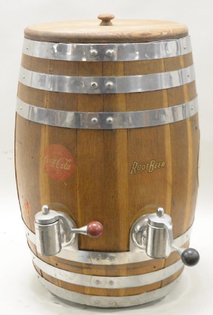 JHS Rochester Coca Cola & Root Beer Barrel