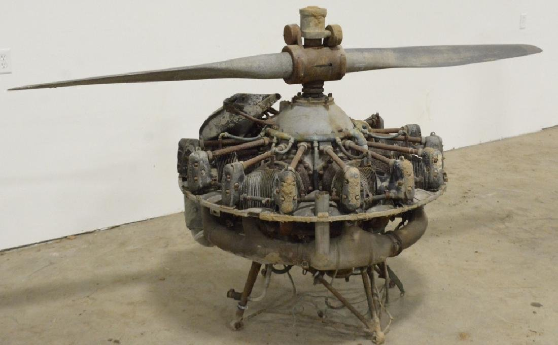 Jacobs R755 Aircraft Radial Engine