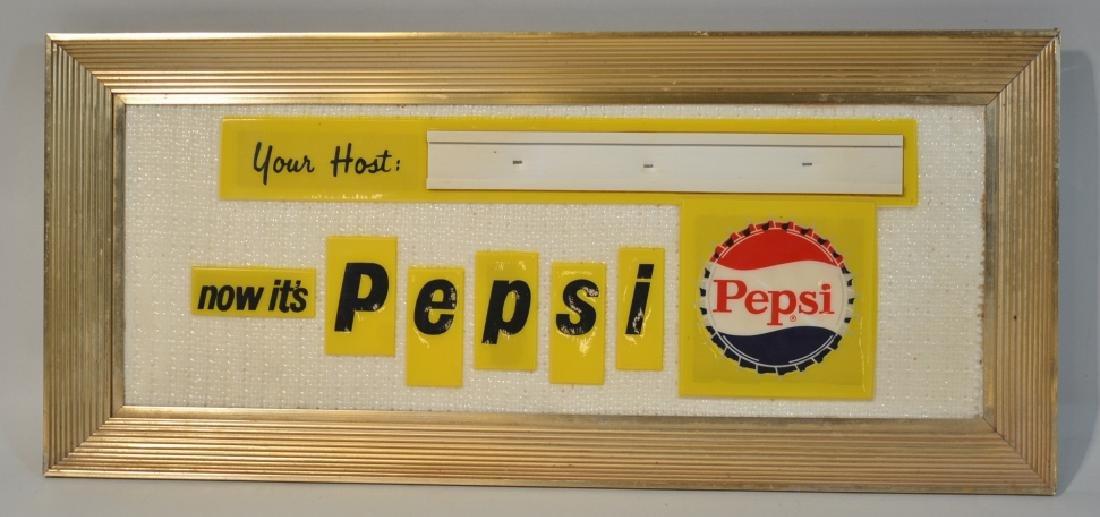 Single Sided  Pepsi Advertising Sign