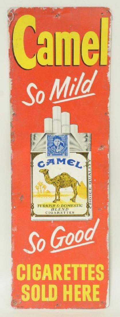 SST Camel Cigarettes Advertising  Sign