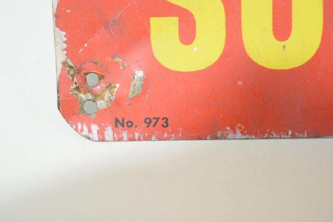 SST Camel Cigarettes Advertising  Sign - 2