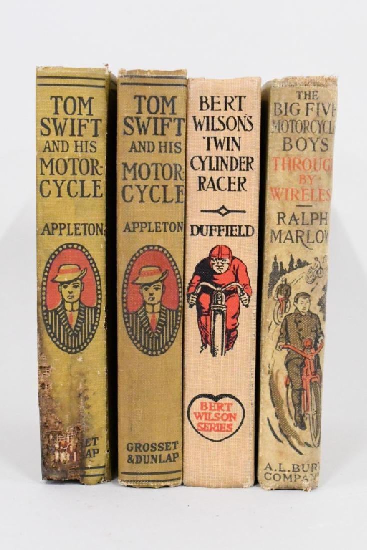 Lot Of 4 Early Motorcycle Books - 2