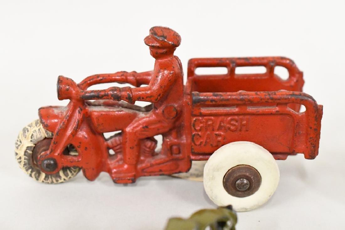 Vintage Metal Motorcycle Toy Lot - 2