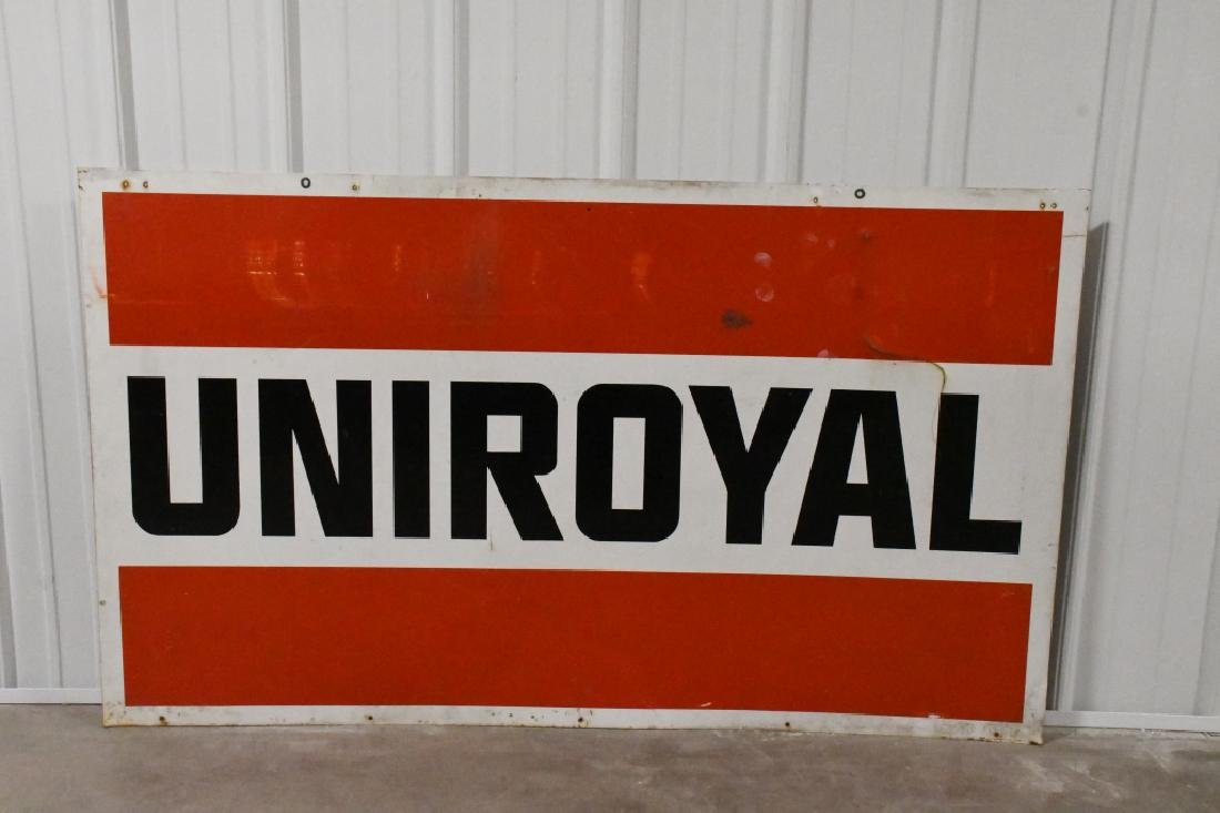 Large DST Uniroyal Advertising Sign - 2