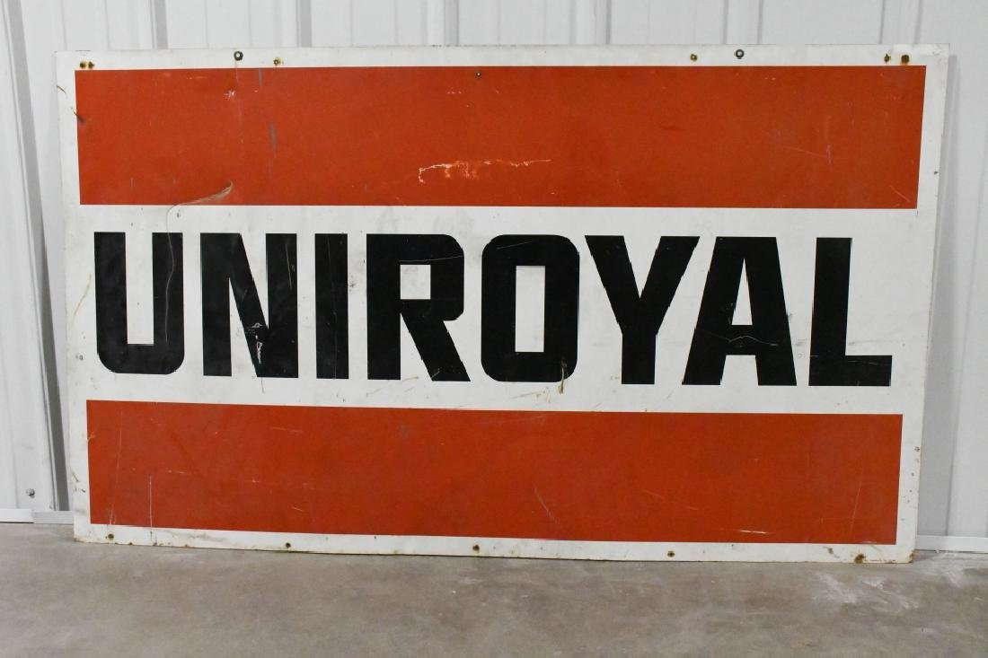 Large DST Uniroyal Advertising Sign - 4