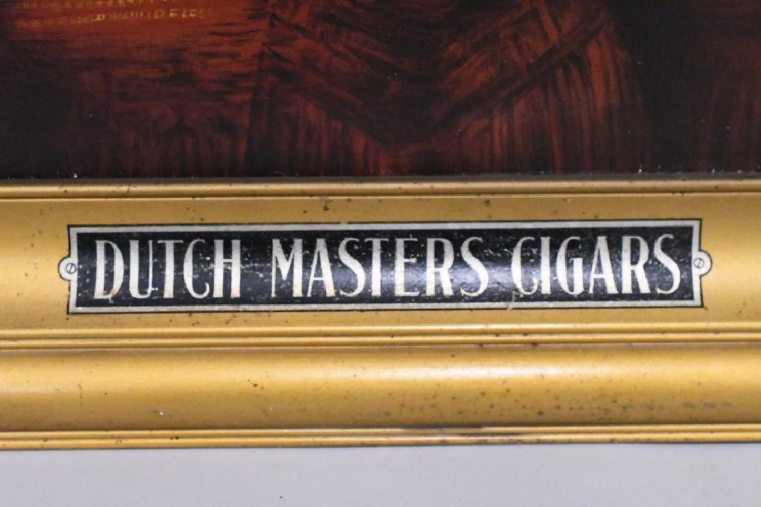 Vintage Dutch Masters Cigars Adv Canvas Sign - 3