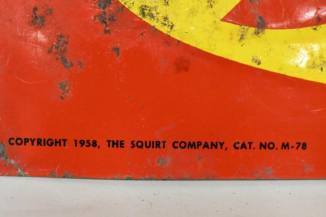 SST Embossed Squirt Advertising Sign - 2
