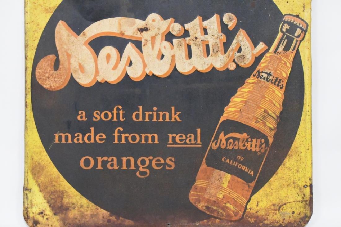 SST Embossed Nesbitt's  Advertising Sign - 2
