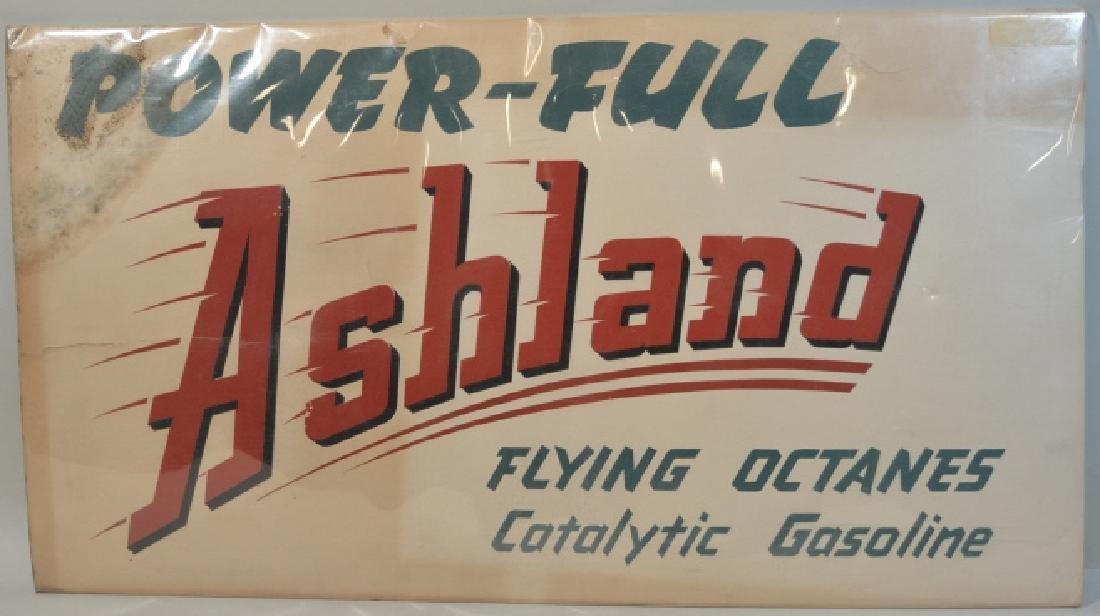 Ashland Gasoline Advertising Sign
