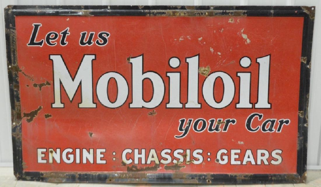 SSP Mobiloil Advertising Sign