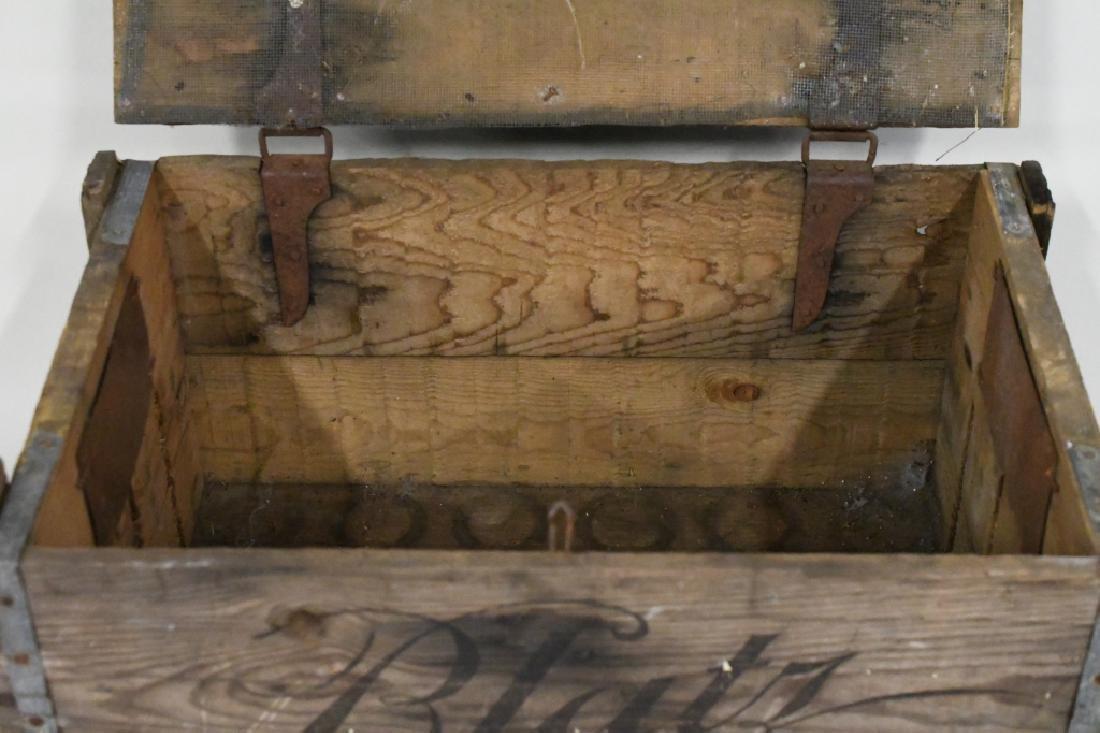 Blatz Beer Advertising Crate - 2