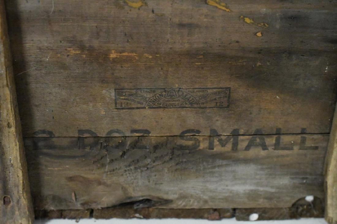 Blatz Beer Advertising Crate - 4